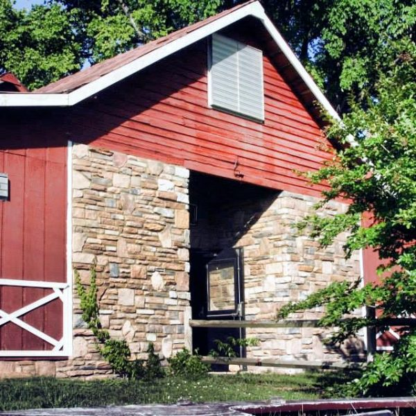 Ocoee River Barn front exterior: a charming, rustic, and timeless venue for every special occasion.